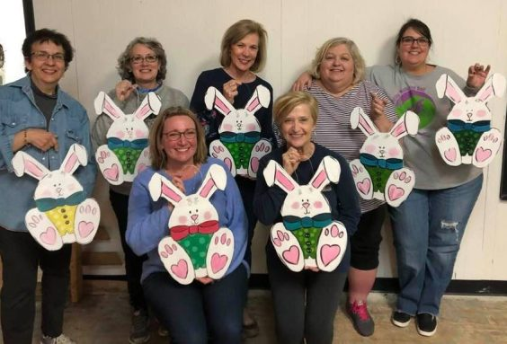 bunny door hanger group