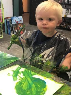 toddler green